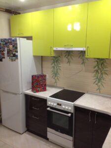 Уютная кухонька для молодой пары